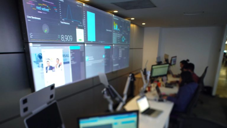 visualización de datos - centros de comando