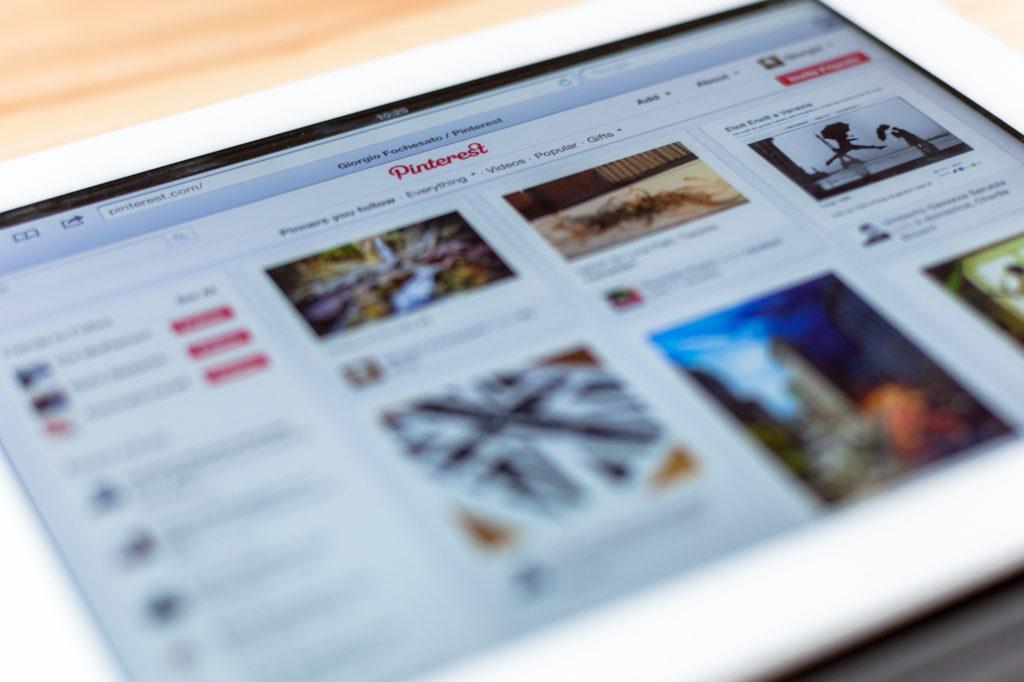 estadísticas de las redes sociales: Pinterest