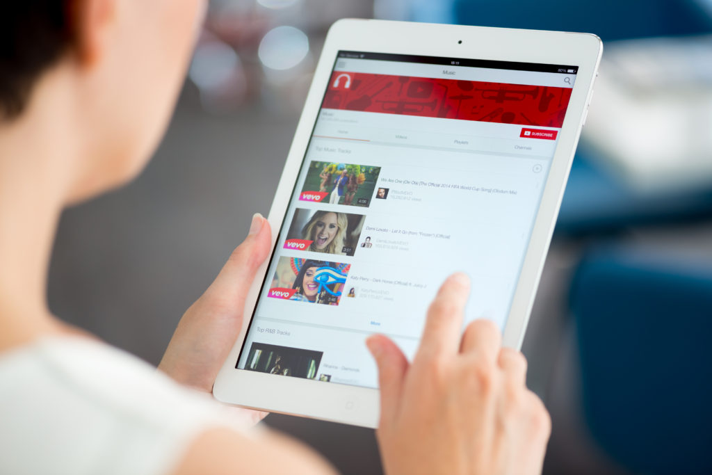 estadísticas de las redes sociales: YouTube